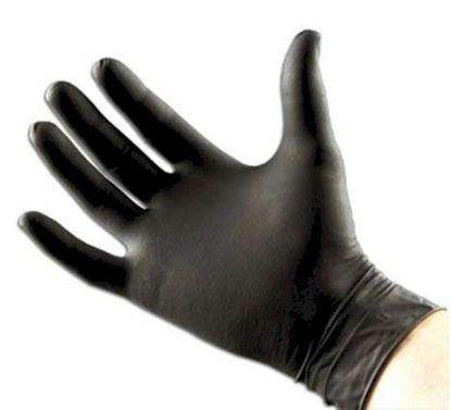 Afbeeldingen van Nitrille handschoenen zwart