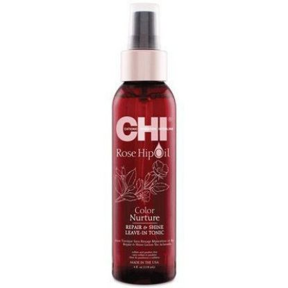 Afbeeldingen van Chi rose Hip Oil repair&shine leave in