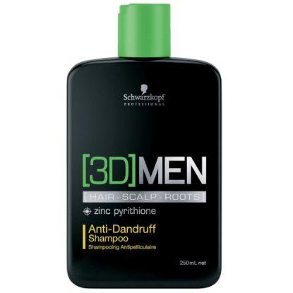 Afbeeldingen van Schwarzkopf 3D MEN Anti-Dandruff Shampoo
