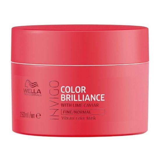 Afbeeldingen van Wella Invigo Color Brilliance Mask Fijn/Normaal