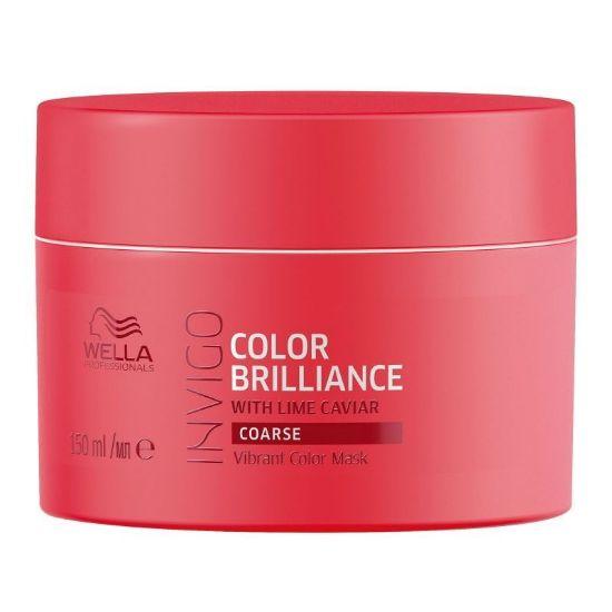 Afbeeldingen van Wella Invigo Color Brilliance Mask Weerbarstig