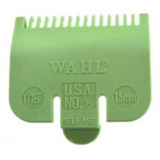 Afbeeldingen van Wahl opzetstuk mintgroen plastic