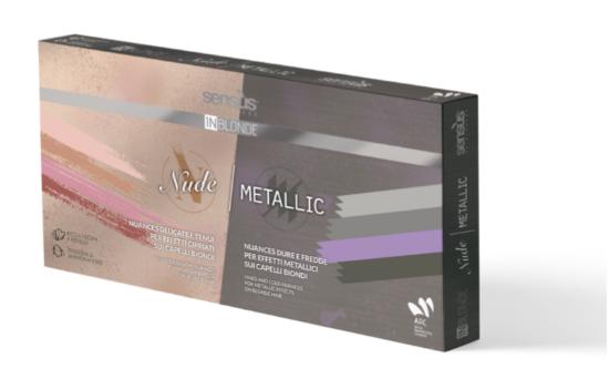 Afbeeldingen van Sens.ùs In Blonde Kit Nude + Metallic