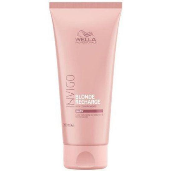 Afbeeldingen van Wella Invigo Blonde Recharge Warm Blond Conditioner