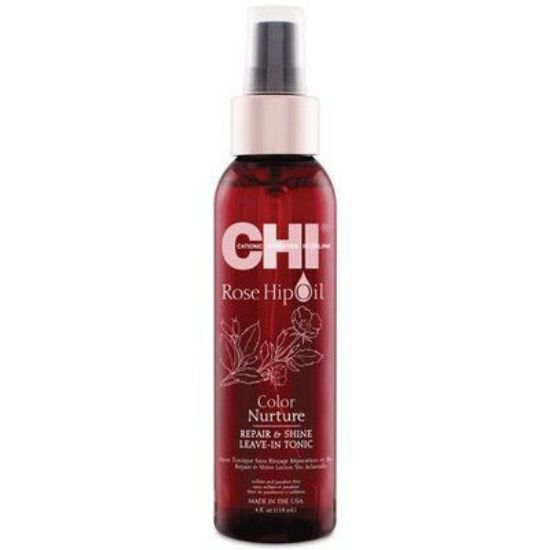 Afbeeldingen van Chi rose Hip Oil repair&shine leave in