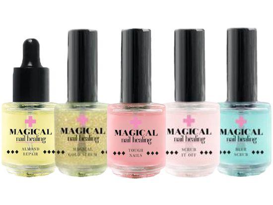 Afbeeldingen van Nail Perfect Magical Nail Healing Kit/ Manicure Set