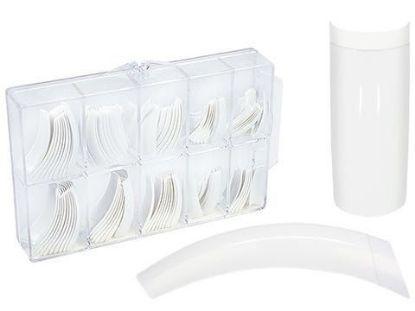 Afbeeldingen van Nageltips Wit French manicure - 100 Stuks