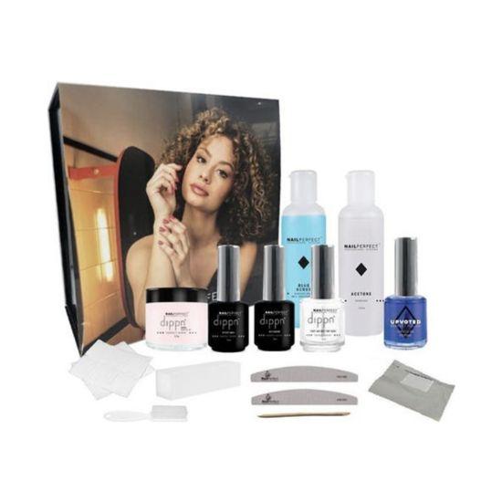 Afbeeldingen van NailsPerfect Dippn' Get Started Kit - All in one kit- Dip poeder- Acryl (SET 2)