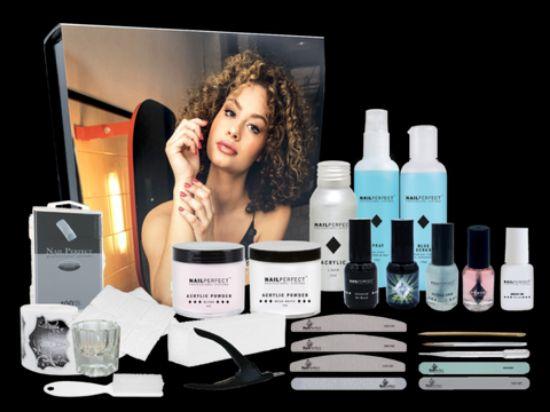 Afbeeldingen van Acrylic Get Started Kit - Nail Perfect