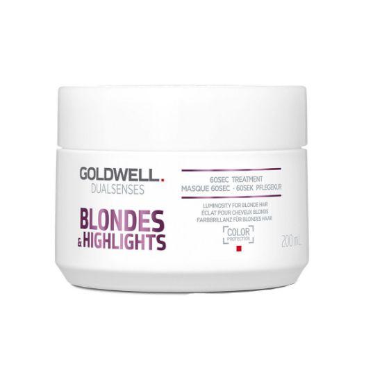 Afbeeldingen van Goldwell Dualsenses Blondes & Highlights 60 sec. Treatment