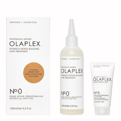 Afbeeldingen van OLAPLEX Intensive bond building hair treatment NO.0  incl 30 ml sample size NO.3
